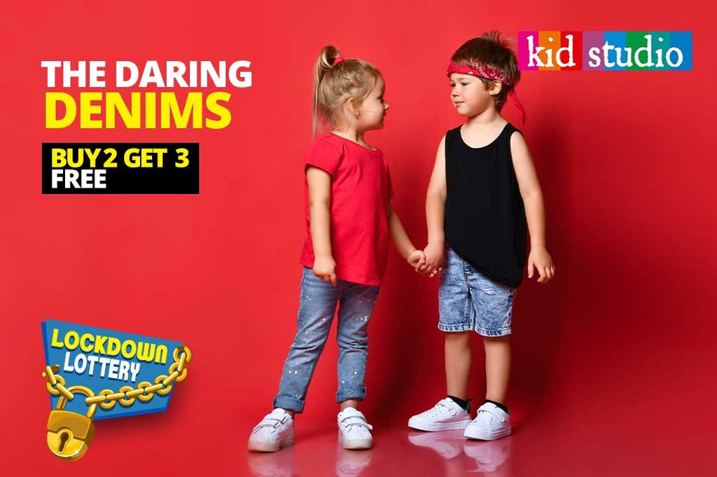 Different ways to wear Denims | Kids fashion