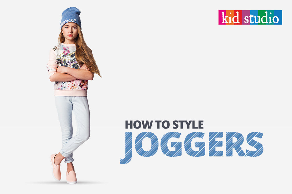 How to style joggers | Girls fashion wear