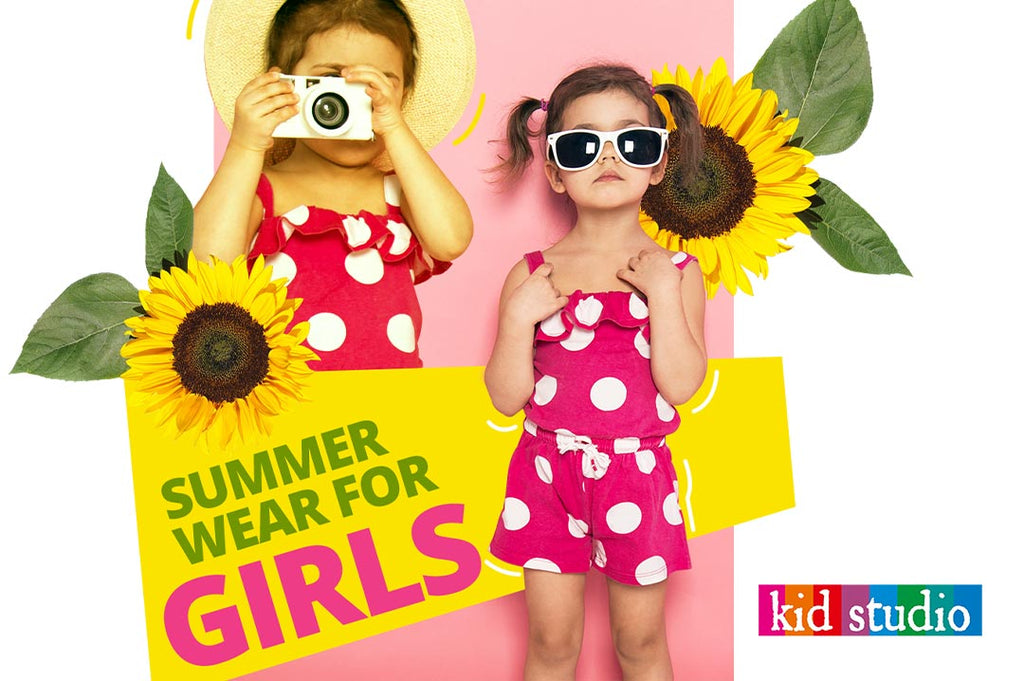 Beautiful summer wear for girls