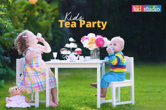 Get ready for amazing & colorful tea party