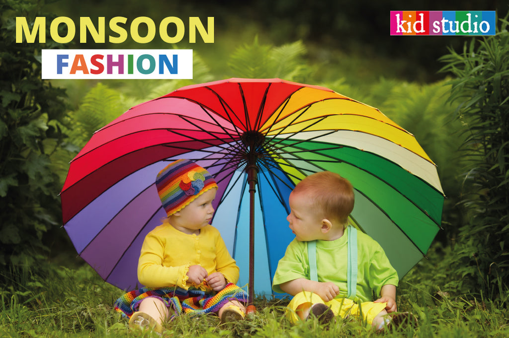 What kids should wear during monsoon?