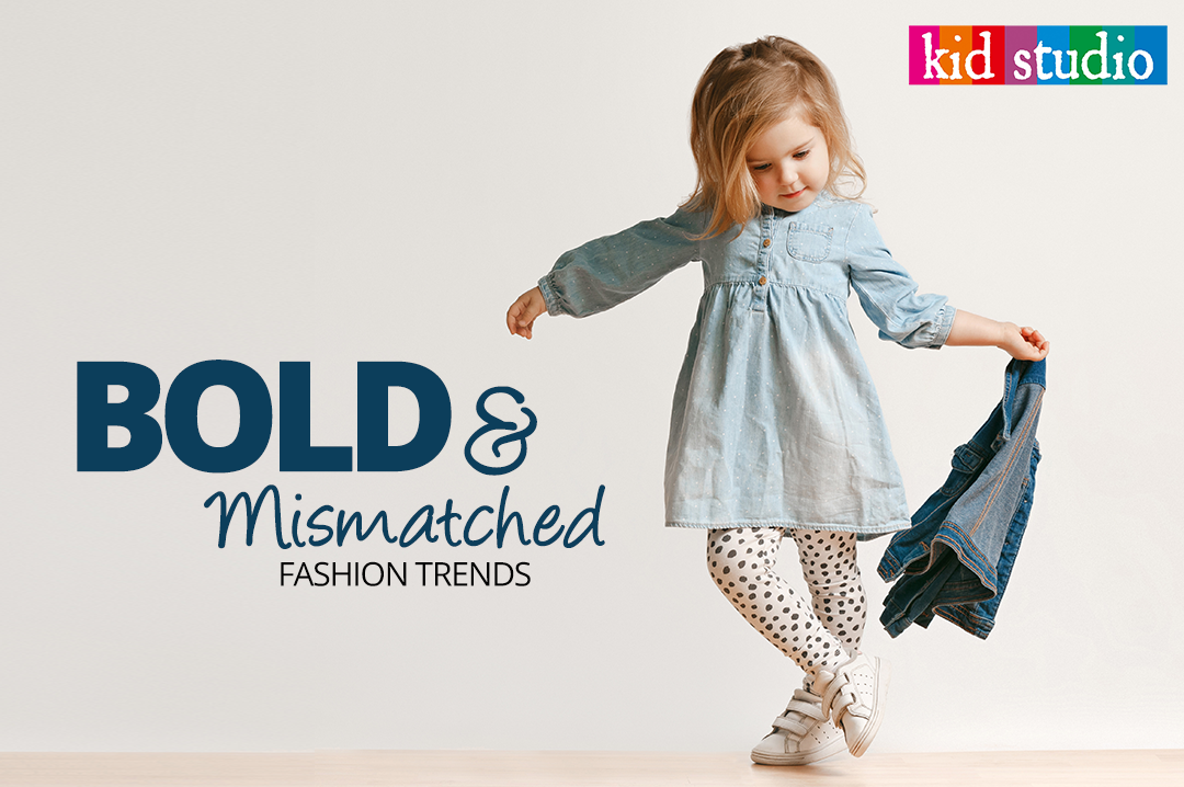 kids wear - mismatch clothes