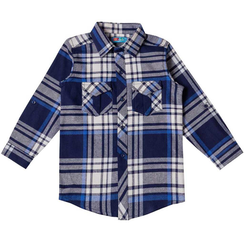 A Checkered Shirt: