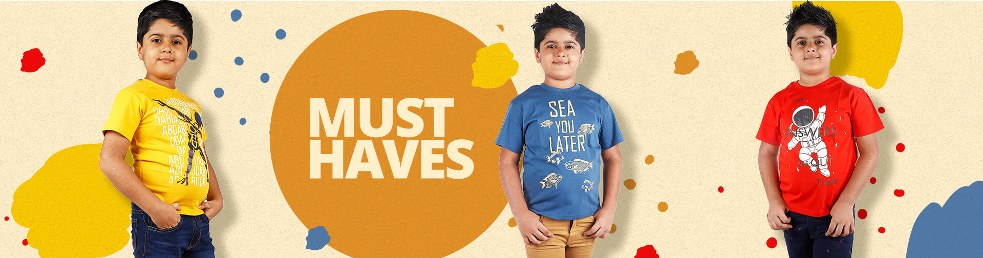 MUST HAVES boys tshirts and shirts