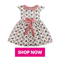 buy pink frock for girl online