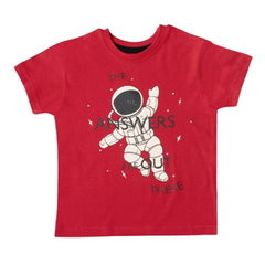 red space boys tshirts