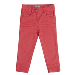 red boys trousers