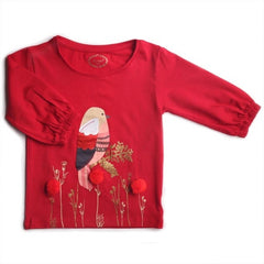 red tshirt for baby girl