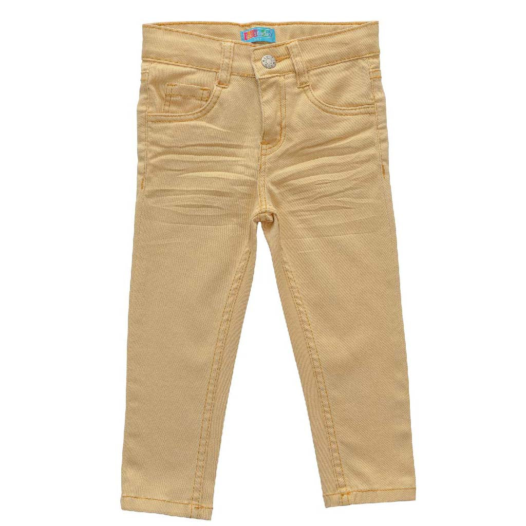 Kids Slim Fit Chinos with Stretch