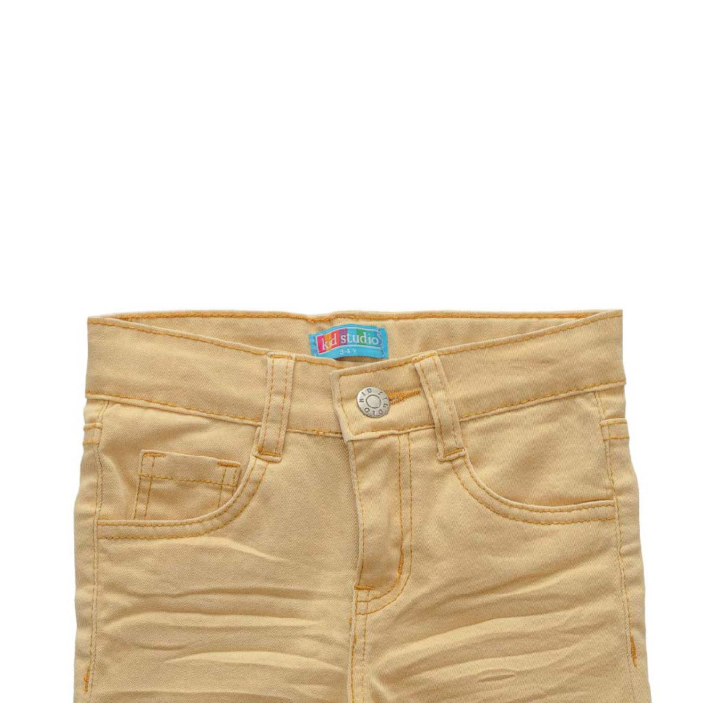 Boys Khaki Slim Fit Stretch Chinos