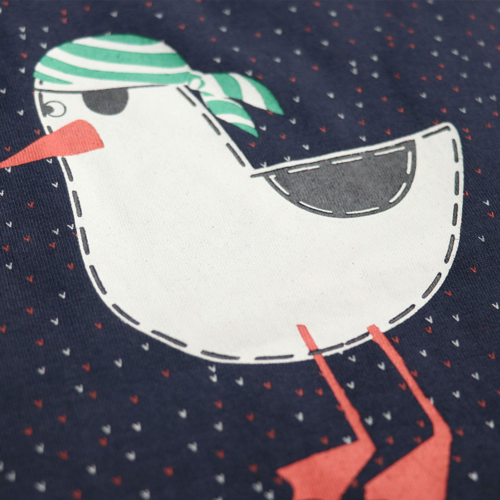 Boys Navy Duck Print T-shirt
