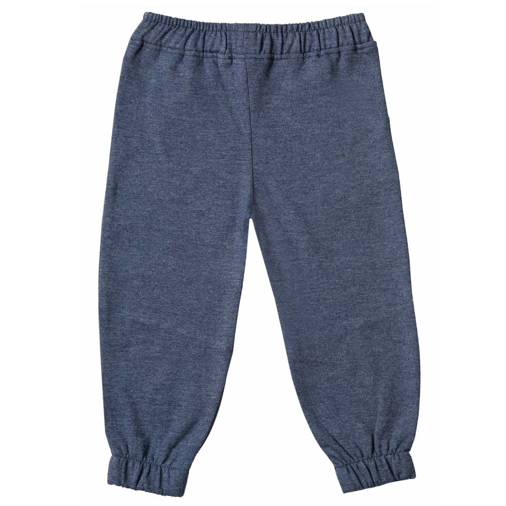 Boys Blue & Grey Knit Joggers