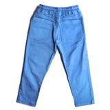 Boys Cotton Trousers Elasticated Waistband Pant, Sky Blue