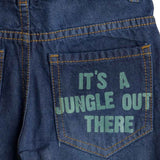 Boys Dark Blue Denim Short