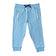Boys Light Blue Reflective Knit Joggers