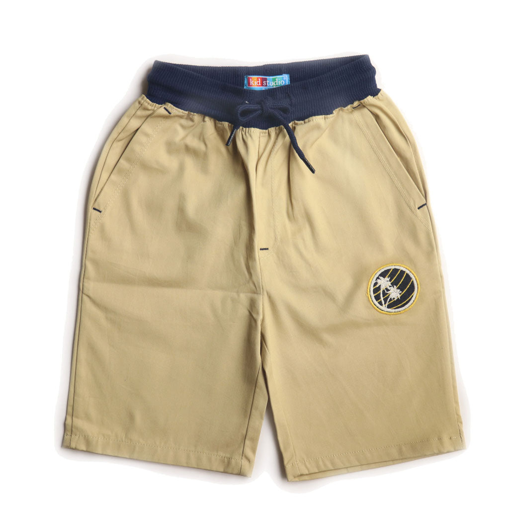 Boys Khakhi Pull on Shorts