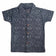 Boys Half Sleeve Single Jersey Printed Shirt, Dark Blue