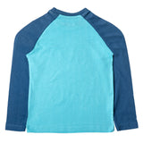 Boys Long Sleeve Graphic T-shirt, Light Blue
