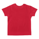 Boy's Half Sleeve Tshirt, Graphic Print, Red