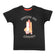 Boys Black Space Shuttle Print T-shirt