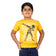 Boys Yellow Skeleton Print T-shirt