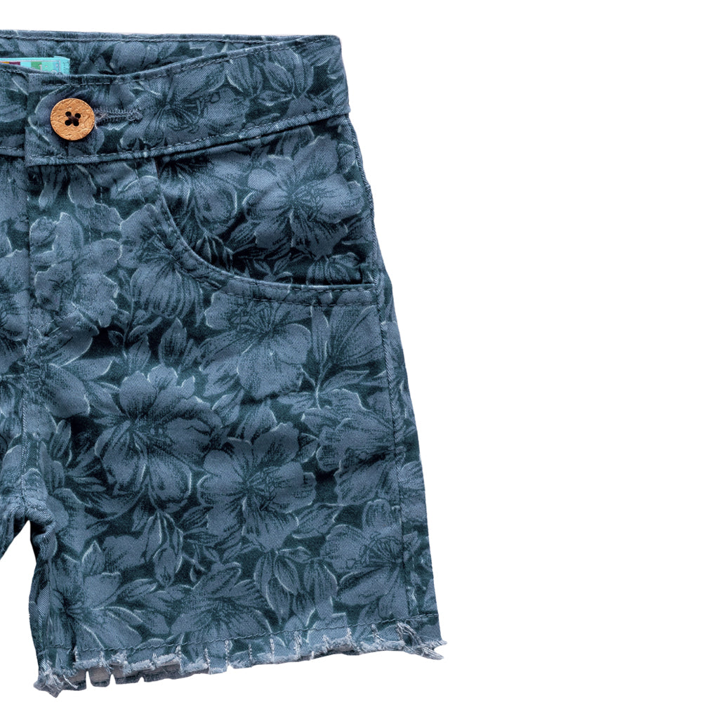 Kids Cotton Shorts with Stretch