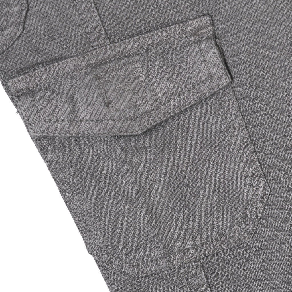 Boys Cotton Joggers Pant, Grey