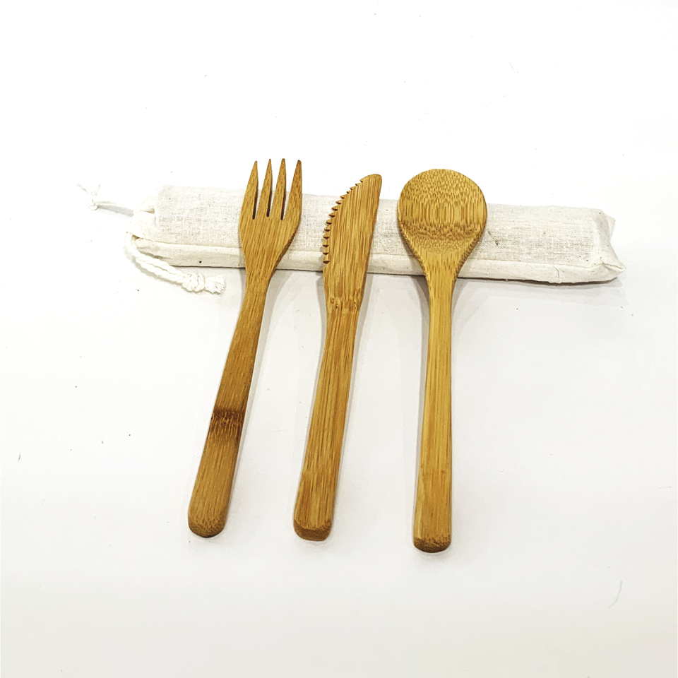 Bamboo Cutlery Pack