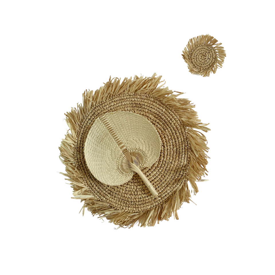 Placemats Round - Seagrass