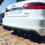 Audi 8V1 S3 Diffuser Fin Set - Tweek Performance