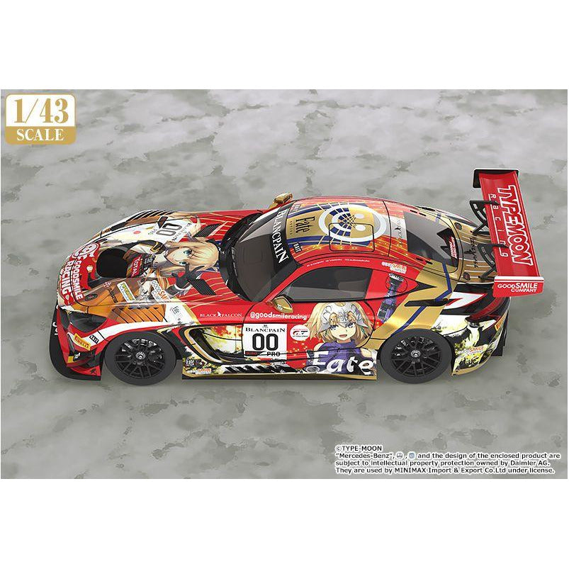 Good Smile Company Goodsmile Racing & Type-Moon Racing 2019 SPA24H Ver 1/43 scale