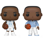 Funko Pop! UNC Michael Jordan Complete Set Of 2 Pop's! Vinyl Figure