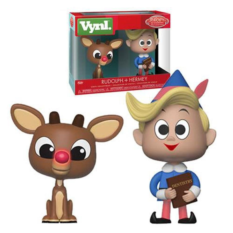 Funko Pop! Vynl: Rudolph the Red-Nosed Reindeer Rudolph and Hermie Vynl. Figure 2-Pack