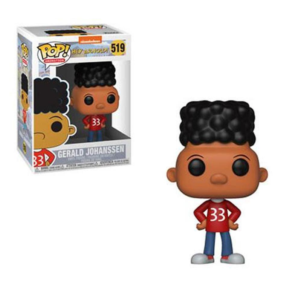 Funko Pop! Animation: Hey Arnold! Gerald Pop! Vinyl Figure #519