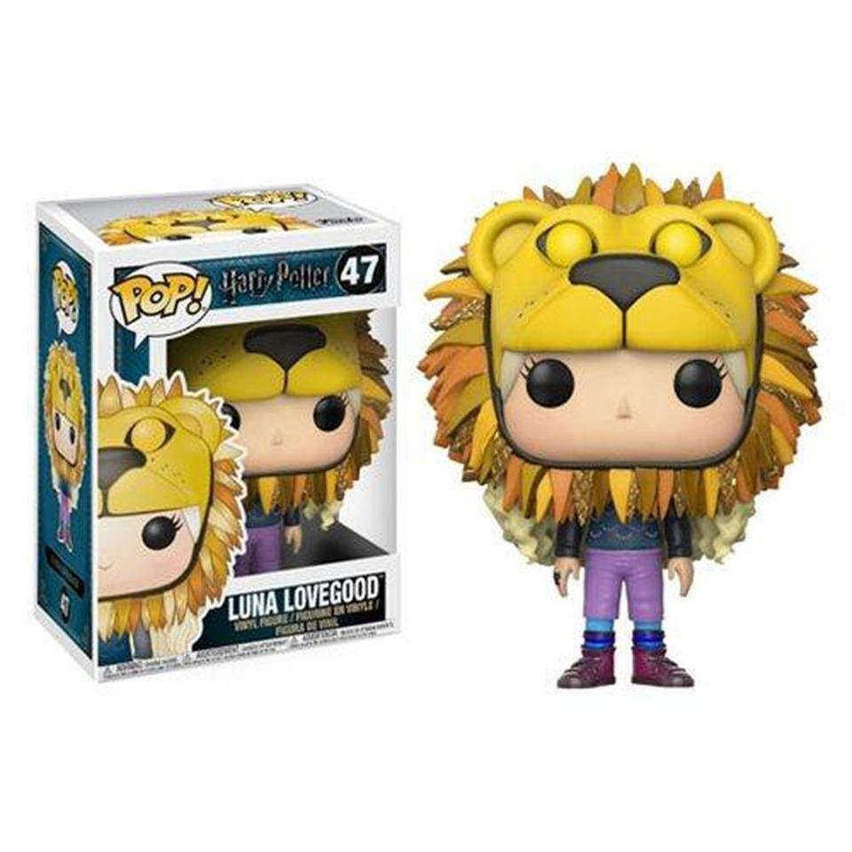 Funko POP! Harry Potter Luna Lovegood Lion Head Pop! Vinyl Figure #47