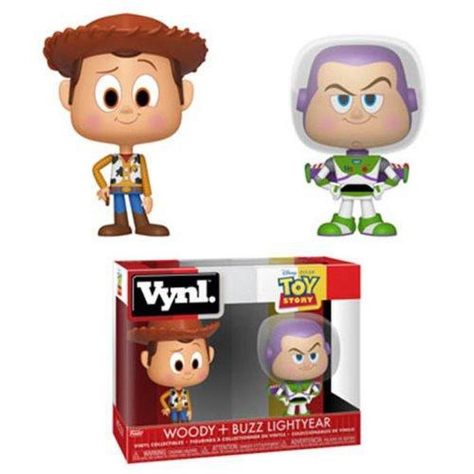 Funko Pop! Animation: Toy Story Woody and Buzz VYNL Figure 2-Pack