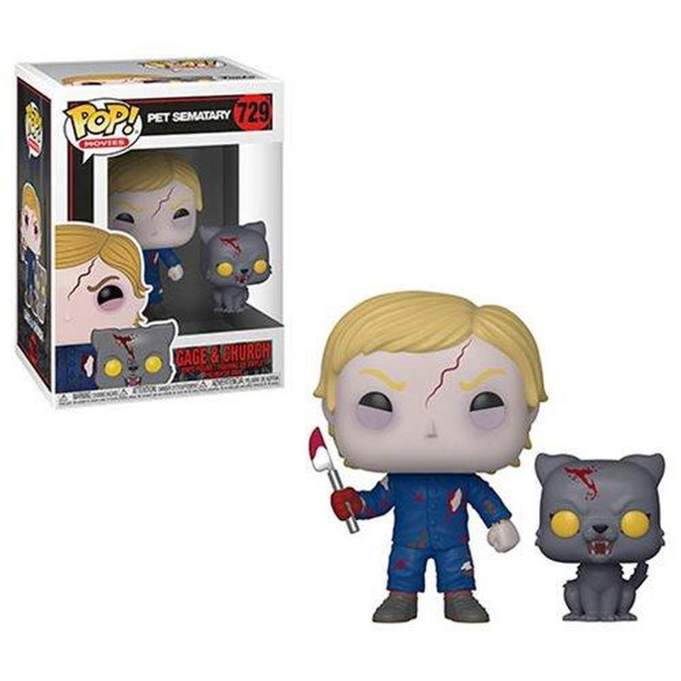Funko Pop! Pet Sematary Undead Gage and Church Pop! Vinyl Figure