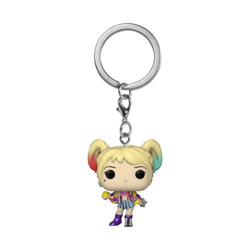 Funko Pop! Birds of Prey Harley Quinn Caution Tape Pocket Pop! Key Chain