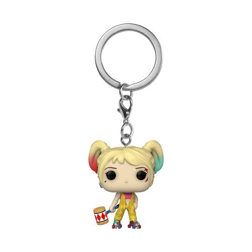 Funko Pop! Birds of Prey Harley Quinn Boobytrap Battle Pocket Pop! Key Chain