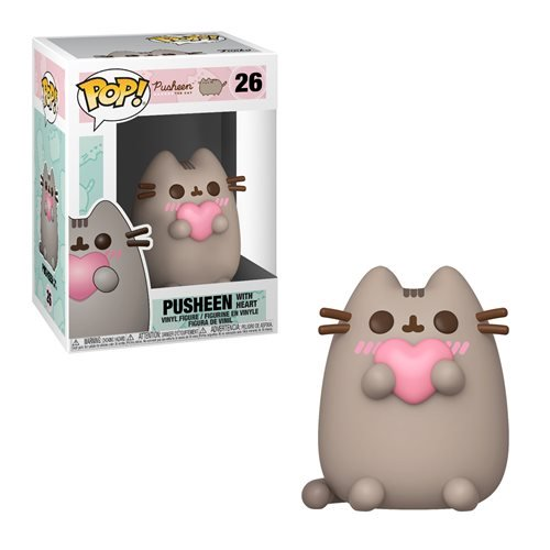 Funko Pop! Pusheen with Heart Pop! Vinyl Figure