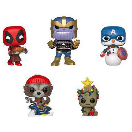 Funko POP! Marvel Holiday - Set Of 5 Vinyl Figure