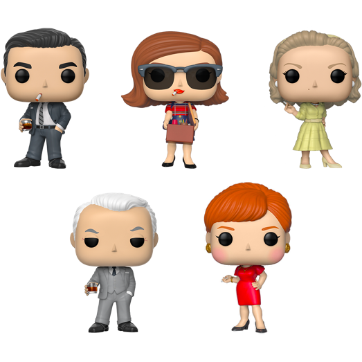 Funko POP! Mad Men - Set Of 5 Vinyl Figure