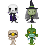 Funko POP! Nightmare Before Christmas - Set Of 4 Vinyl Figure