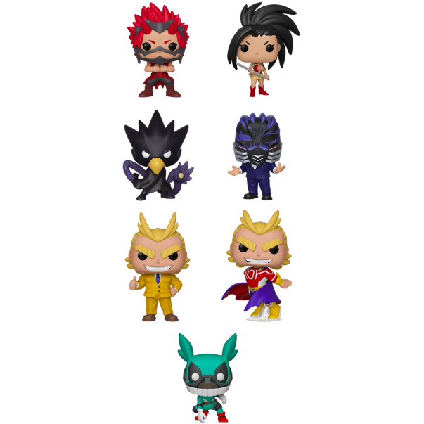Funko POP! My Hero Academia - Set Of 7 Vinyl Figure