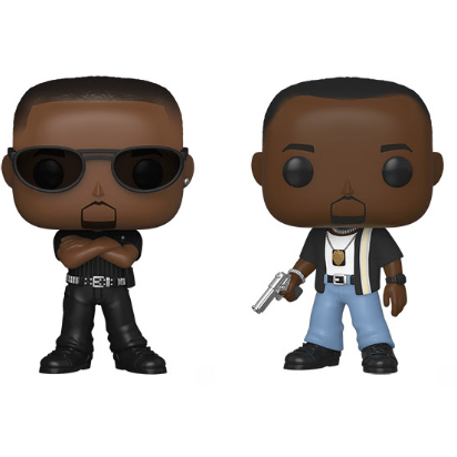 Funko Pop! Bad Boys Complete Set of 2 Pop's! Vinyl Figure