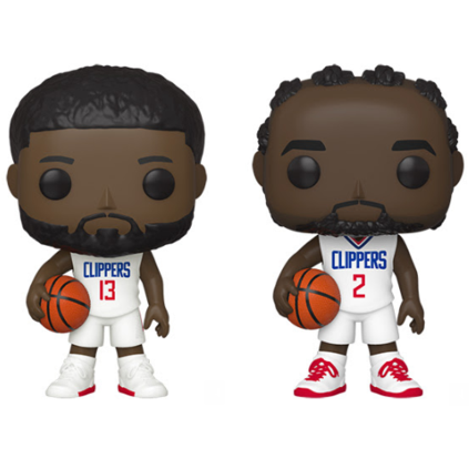 Funko Pop! NBA Clippers Complete Set Of 2 Pop's! Vinyl Figure