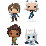 Funko Pop! Dragon Prince Complete Set of 4 Pop's! Vinyl Figure