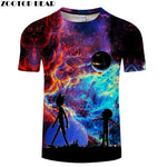 2019 Rick and Morty Galaxy Tshirts 10 STYLES AVAILABLE | FAN FAVORITE!