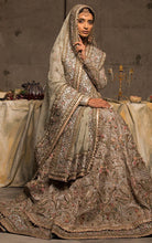 Load image into Gallery viewer, Pre-Eminent Inspired Cream Art Silk  Heavy Embroidery Work With Cheerful Lehenga Choli