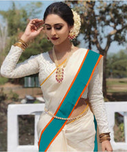 Load image into Gallery viewer, Khatumbdi Presents New White Banglori Silk & Sequence Work With Highest Saree Collection